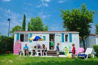 Vigna sul Mar, Mobil Home Terrasse (Tarif 4 personnes)