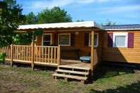 Landes Océanes, Mobile home with terrace