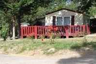 Domaine de l'Etang de Bazange, Mobil Home Terrasse, proche étang