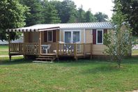 Le Moulin de Surier, Mobile Home with Terrace (rates for 6 people).