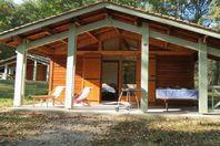 Le Lac de Lislebonne, Chalet with terrace (rates for 4 people)