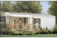 Riez à La Vie, Mobilheim mit Terrasse
