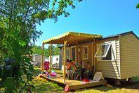 La Clairière, Mobil-Home Terrasse