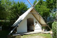Pré Fixe, Wood and Canvas Tent without bathroom facilities