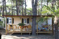 Ca'Pasquali, Mobil Home Terrasse